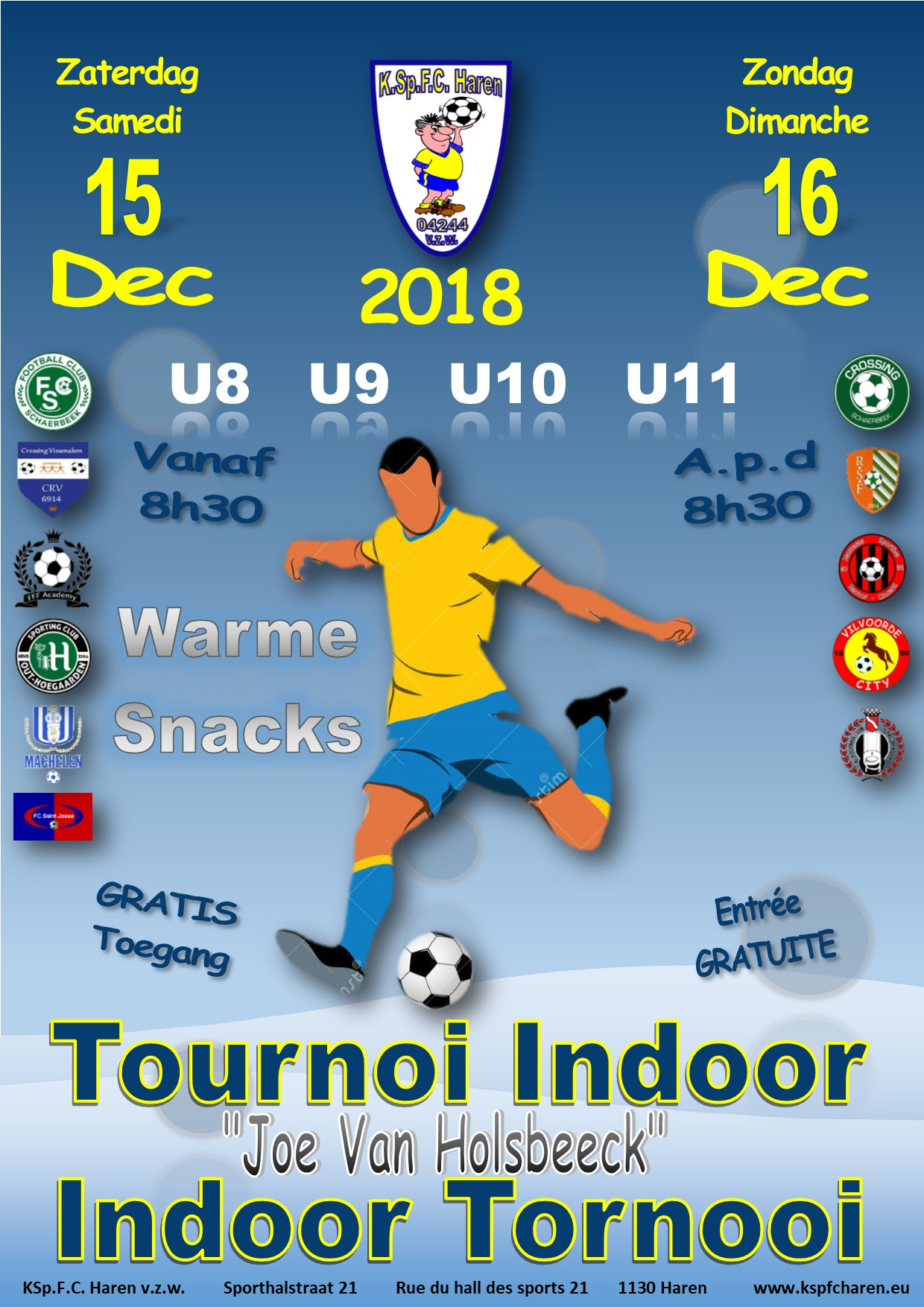 tournoi indoor 2018
